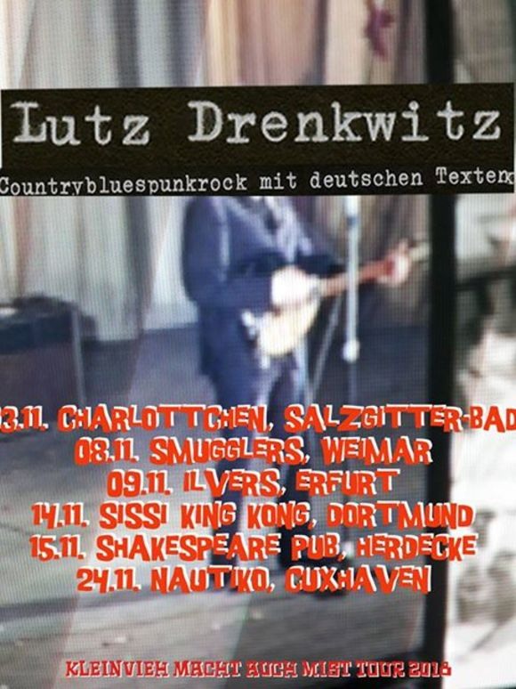 Lutz Drenkwitz - Tourplakat